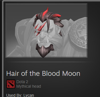 Hair of the Blood Moon (Lycan)