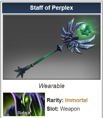 Staff of Perplex (Immortal Rubick)