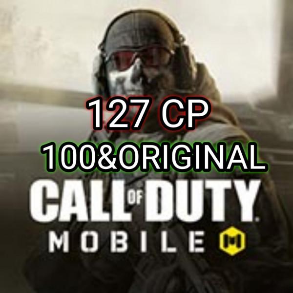 127 CP Call Of Duty Dan 100% original