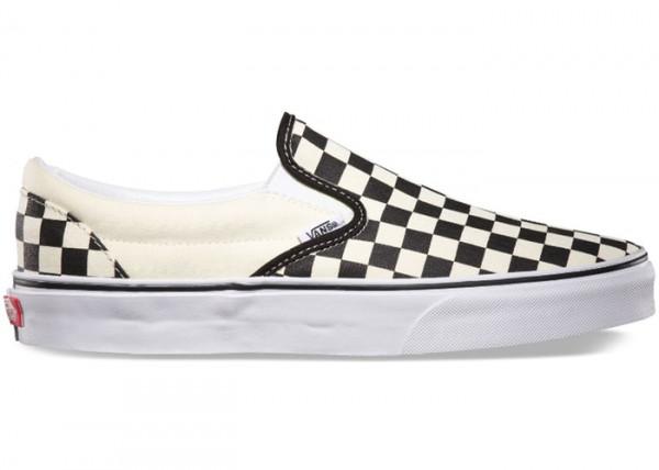Checkerboard Black White