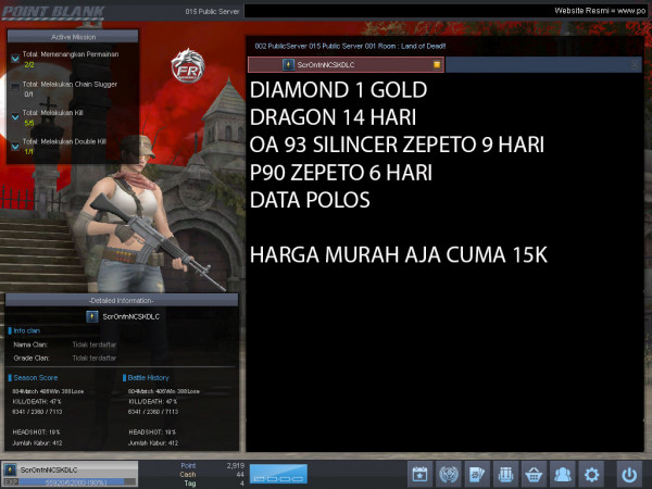 Diamond 1 Emas Dragon 14 hari