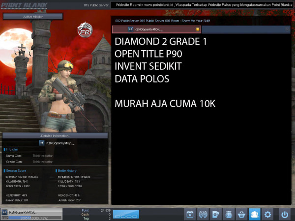 Diamond 2 Petik 1 OPEN TITLE P90