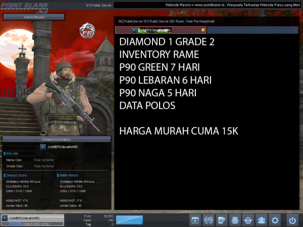 Diamond 1 Petik 2 P90 GREEN 7 HARI