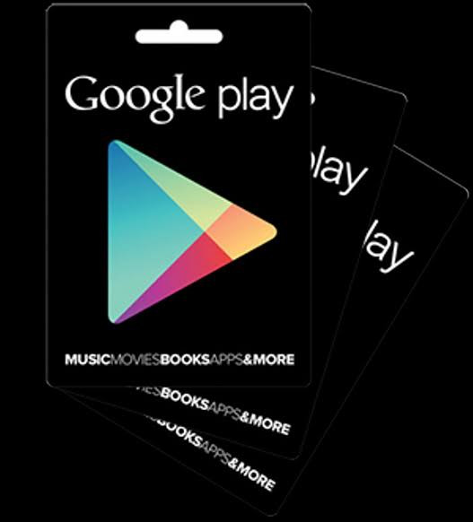 Voucher Google Play / Google Play Card / GPC 500rb