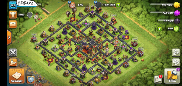 MAX Town Hall 10 - BASE FULL MAX