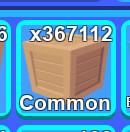 1000 Common Crate Mining Simulator