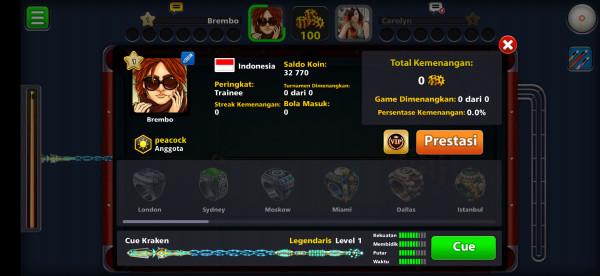 Akun smurf 1 legend