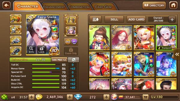 FairyStella+Amber+Fox+Sin+Isaac+Wukong dkk