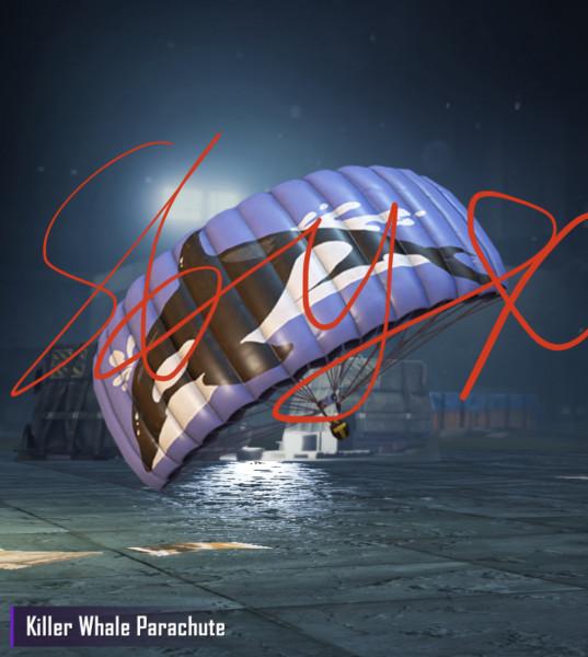 Killer Whalte Parachute