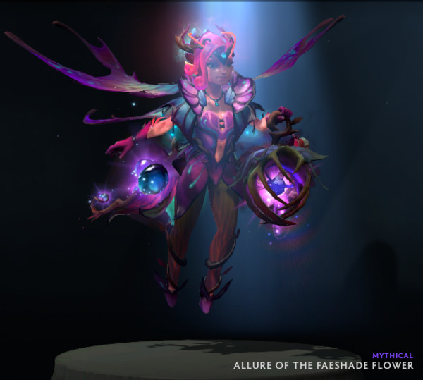 Allure of the Faeshade Flower (Dark Willow Set)