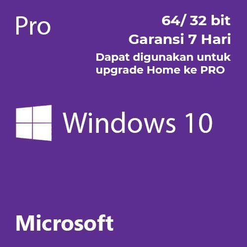 Windows 10 Pro 32/64 Bit Produk Key 100% Original