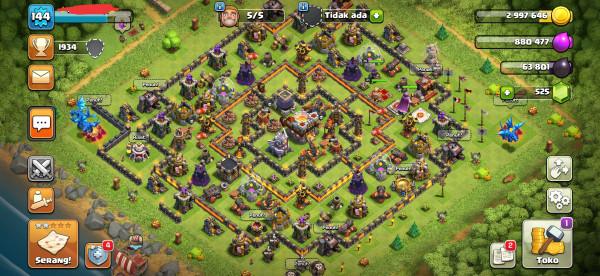MAX Town Hall 11, Hero, Base GG