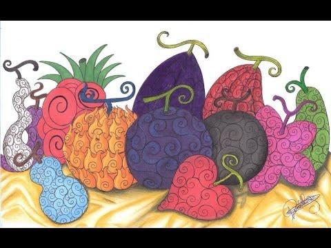 random devil fruit one piece open seas