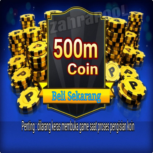 500m koiin 8 ball pool