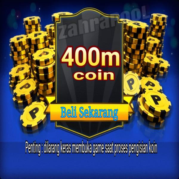 400m atau 400jt coin