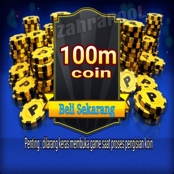 100m atau 100jt coin