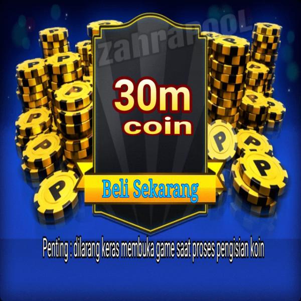 30 Juta Coins