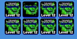 Immortal Cybernetic Emerald Dragon | Ninja Legends