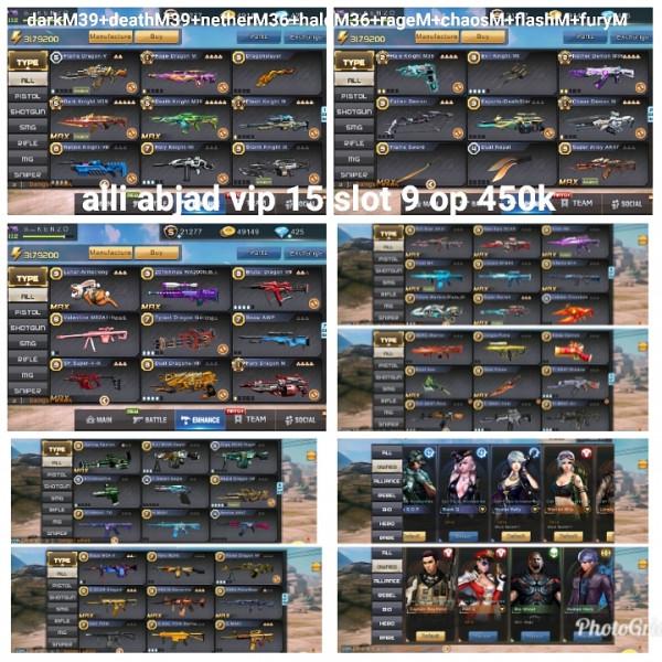 Akun game crisis action 2M39 vip 15