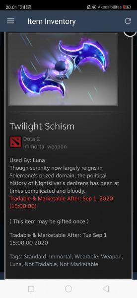 Twilight Schism (Immortal TI9 Luna)