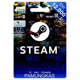 Steam Wallet IDR 12K
