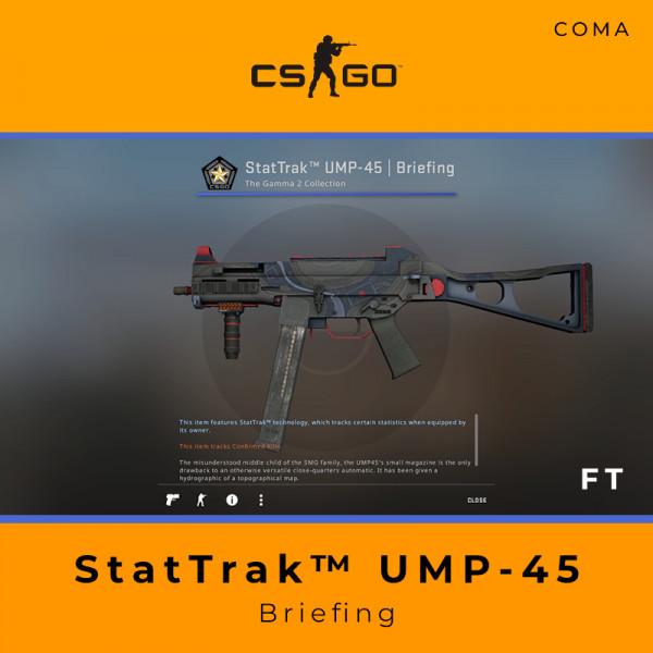 StatTrak™ UMP-45 | Briefing (Field-Tested)