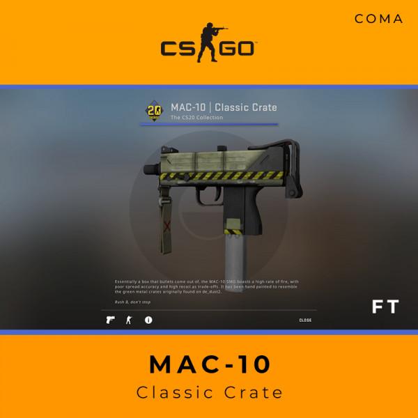 MAC-10 | Classic Crate (Field-Tested)