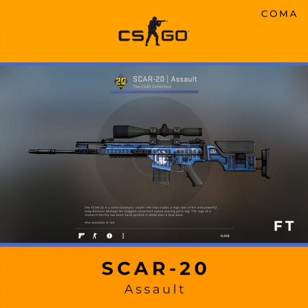 SCAR-20 | Assault (Field-Tested)