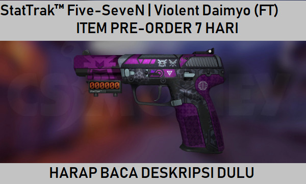StatTrak™ Five-SeveN | Violent Daimyo