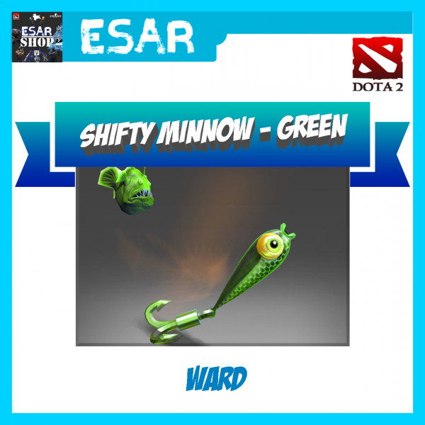 Shifty Minnow (Ward) Green Minnows