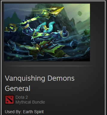 Vanquishing Demons General (Earth Spirit Set)