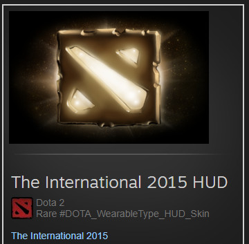 The International 2015 (HUD Skin)