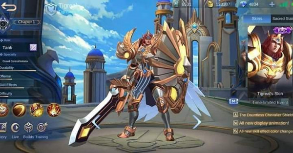 Lightborn - Defender ( Epic Skin Trigeal )