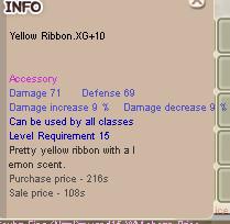Yellow Ribbon XG+10 YR clean