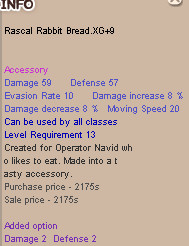 Rascal Rabbit Bread XG+9 RRB