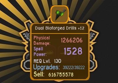 Dual BioForged Drills