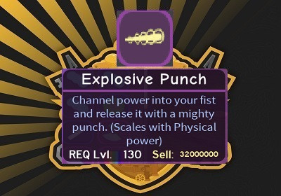 Explosive Punch