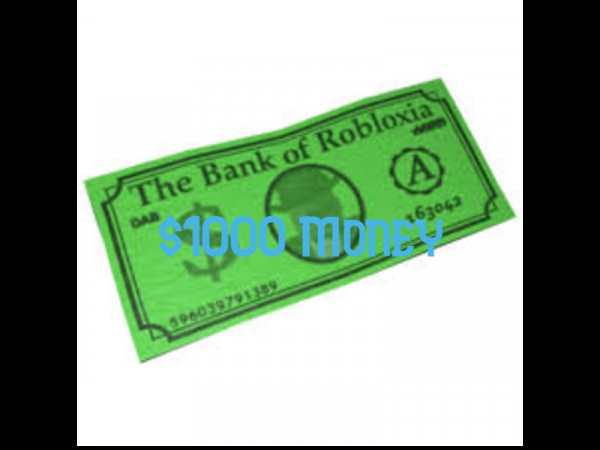 Bloxburg Money $1000