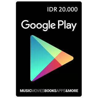 Gift Card IDR 20.000