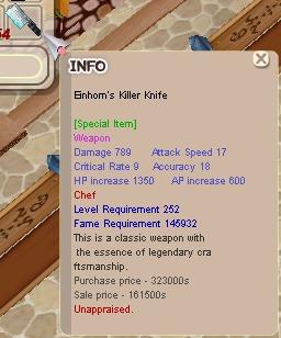 Einhorn Weapon Chef Normal +0