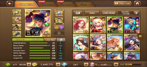 Le Blanc + Ra + Isaac + Idol Sunny + Dark Maia