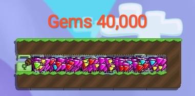 WORLD GEMS 40,000