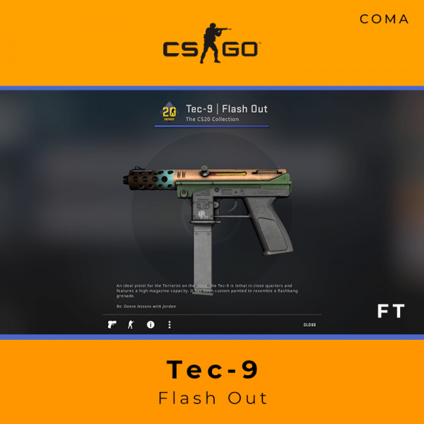 Tec-9 | Flash Out (Field-Tested)