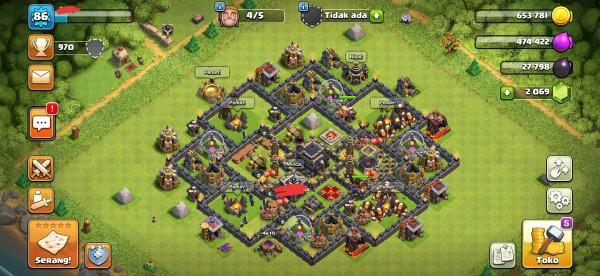 Minimax Townhall 9, CN aktif + Clan level 5