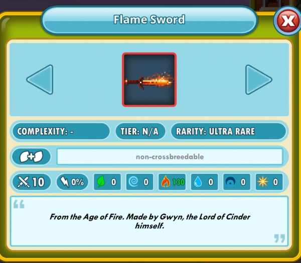 Flame Sword ( Fire Sword )