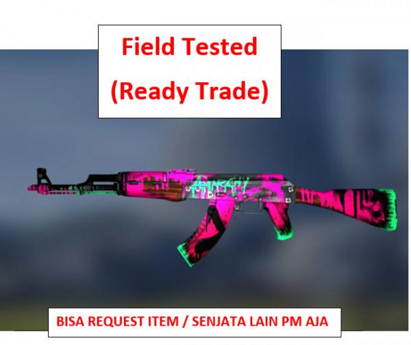 AK-47 | Neon Revolution FT | Ready Trade