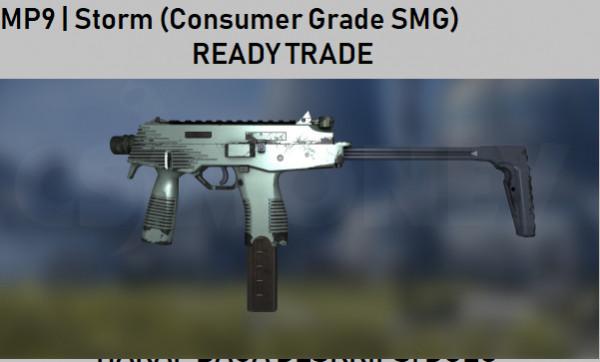 MP9   Storm (Consumer Grade SMG)