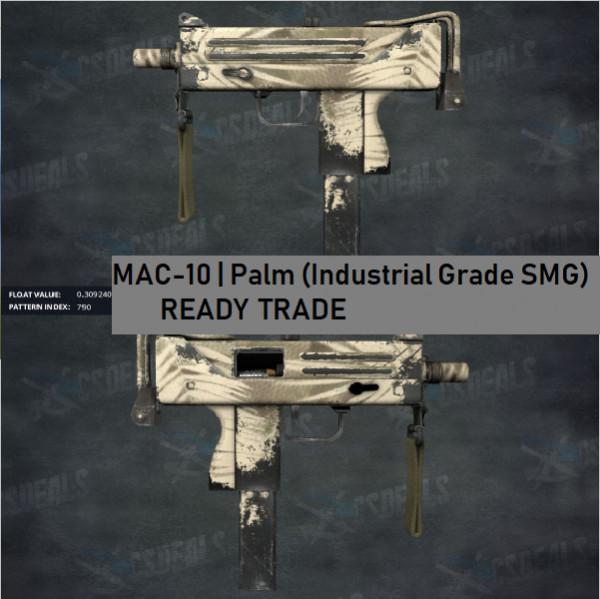 MAC-10 | Palm (Industrial Grade SMG)