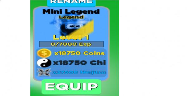 8 Mini Legend|LegendUNMAXED|Ninja Legend