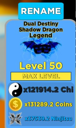 Dual Destiny Shadow dragon - Ninja Legend